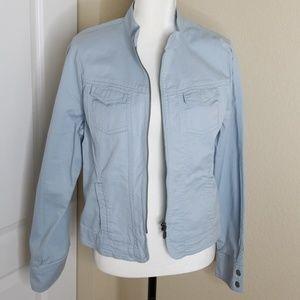 NWT CAbi light weight jean jacket